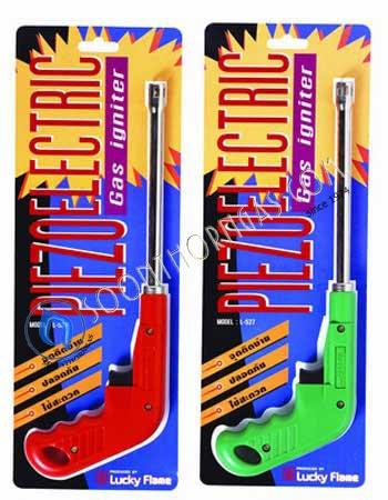 ปืนจุดแก๊ส Luck flame รุ่น L-527 จุดด้วยระบบ piezzo electric