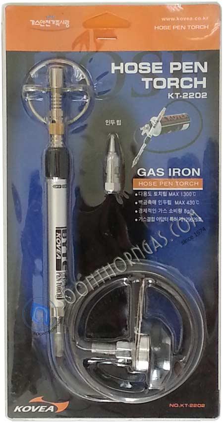 หัวพ่นไฟ หัวแร้งแก๊ส KOVEA รุ่น KT-2202 (GAS SOLDERING IRON / HOSE PEN TORCH)