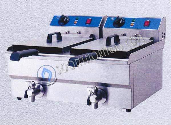 เตาทอดไฟฟ้า 2 อ่าง (10+10 ลิตร) รุ่น A101224