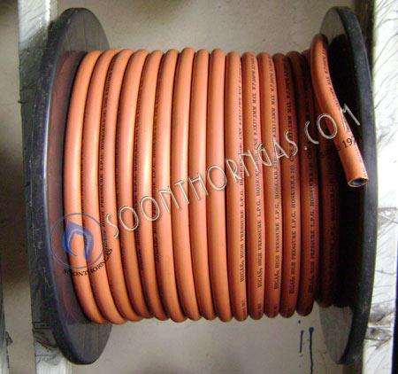 สายแก๊สแรงดันสูง สีส้ม-ดำ HIGAS / HH050HO