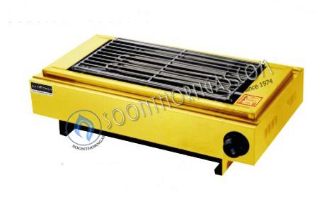 เตาปิ้งย่างไฟฟ้าเดี่ยว  สีเหลือง MODEL.  JHD-99