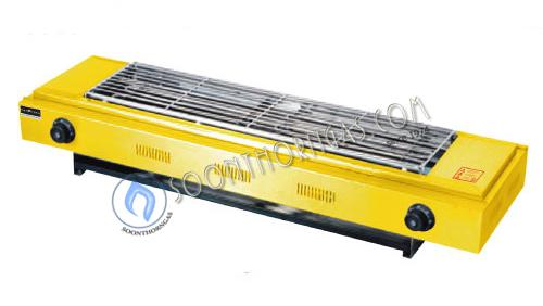 เตาปิ้งย่างไฟฟ้าคู่ สีเหลือง MODEL. DH-110