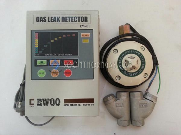 เครื่องเตือนแก๊สรั่ว (GAS LEAK DETECTOR) EWOO รุ่น EW-401
