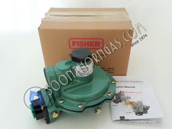 LOW-PRESSURE REGULATOR FISHER รุ่น FS 622DFF