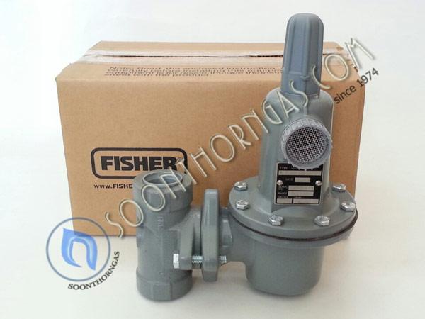 HIGH-PRESSURE REGULATOR FISHER รุ่น FS 627/497