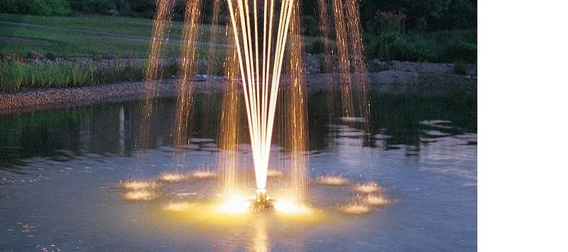 ชุดน้ำพุทุ่นลอย pond jet ECO