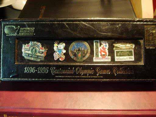 สินค้าที่ระลึก เข็มกลัด Olympic Games Atlanta 1996
