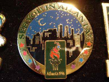 สินค้าที่ระลึก เข็มกลัด Olympic Games Atlanta 1996 3