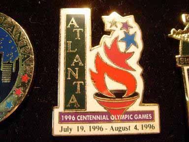 สินค้าที่ระลึก เข็มกลัด Olympic Games Atlanta 1996 4