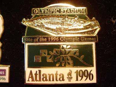 สินค้าที่ระลึก เข็มกลัด Olympic Games Atlanta 1996 5