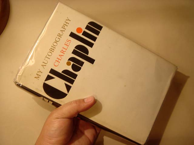 รายเซ็น CHARLIE CHAPLIN : Book MY AUTOBIOGRAPHY 1964 Book Signed Autograph Photos 7