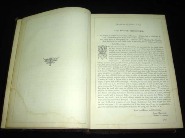 หนังสือเก่า เช็กสเปียร์ อายุเก่ากว่า 137 ปี [ SHAKESPEARE Antique Book 1871 ] 6