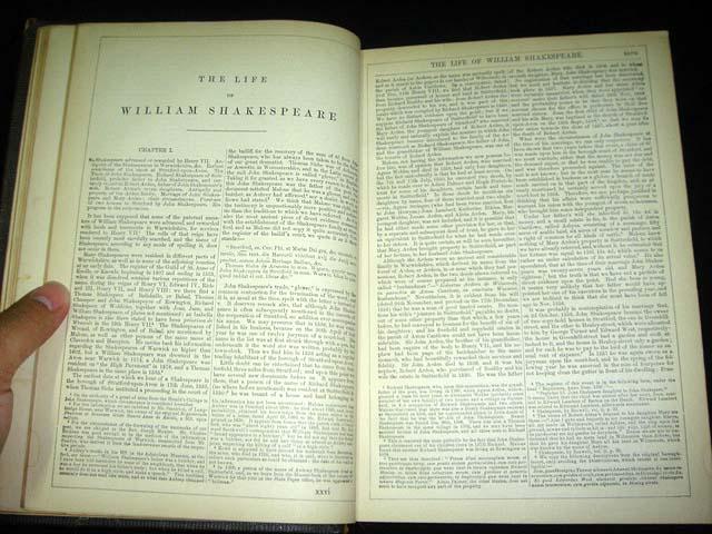 หนังสือเก่า เช็กสเปียร์ อายุเก่ากว่า 137 ปี [ SHAKESPEARE Antique Book 1871 ] 11