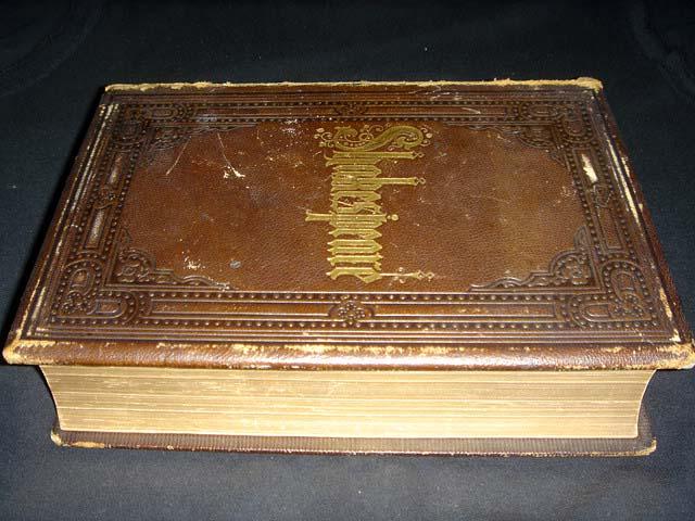 หนังสือเก่า เช็กสเปียร์ อายุเก่ากว่า 137 ปี [ SHAKESPEARE Antique Book 1871 ] 14