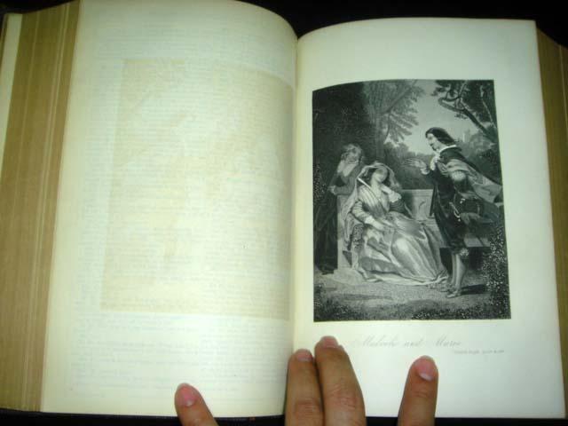 หนังสือเก่า เช็กสเปียร์ อายุเก่ากว่า 137 ปี [ SHAKESPEARE Antique Book 1871 ] 8
