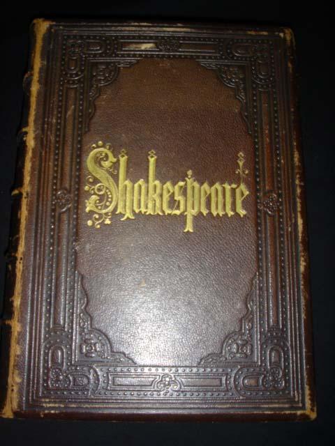 หนังสือเก่า เช็กสเปียร์ อายุเก่ากว่า 137 ปี [ SHAKESPEARE Antique Book 1871 ]