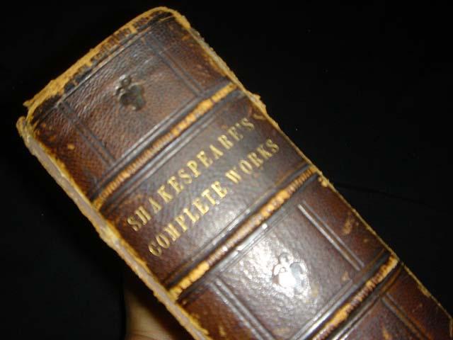 หนังสือเก่า เช็กสเปียร์ อายุเก่ากว่า 137 ปี [ SHAKESPEARE Antique Book 1871 ] 12