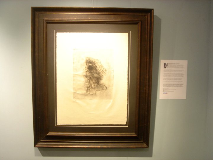 ภาพพิมพ์โลหะของ จอร์จ บราค Georges Braque Original Etching 11/30