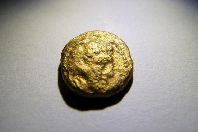 เหรียญทองคำ Alexander Great Herakles with lion skin.