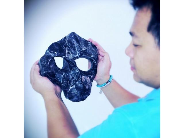 หินรูปใบหน้ามนุษย์ต่างดาว เกิดจากธรรมชาติสร้างสรรค์ นับเป็นเวลาล้านๆ ปี 5