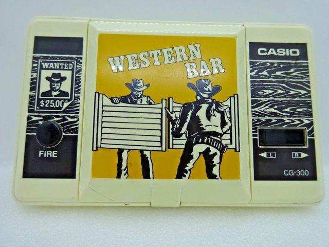 เกมส์กดคาสิโอ CASIO WESTERN BAR CG-300