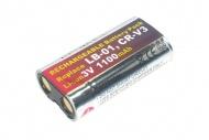 แบตเตอรี่ สำหรับ Minalta รหัสแบตเตอรี่ CRV-3 ความจุ 1300mAh (Battery Camera)