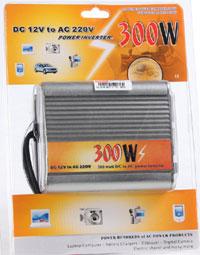 เครื่องแปลงไฟ 12V To 220V (แปลงไฟรถยนต์เป็นไฟบ้าน) ขนาด 300W