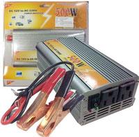 เครื่องแปลงไฟ 12V To 220V (แปลงไฟรถยนต์เป็นไฟบ้าน) ขนาด 500W
