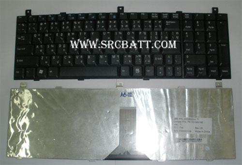 Keyboard Notebook สำหรับรุ่น Acer Aspire 1810/3935/9500 (AC-02) คีย์บอร์ดโน๊ตบุ๊ก