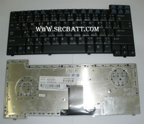 Keyboard Notebook สำหรับรุ่น HP/Compaq nc8220/nx7400/nx7300 (HP-15) คีย์บอร์ดโน๊ตบุ๊ก