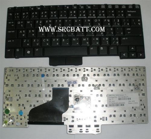 Keyboard Notebook สำหรับรุ่น HP/Compaq Business Notebook 2510P/2530P (HP-13) คีย์บอร์ดโน๊ตบุ๊ก
