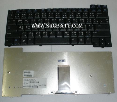 Keyboard Notebook สำหรับรุ่น HP/Compaq ZT3000 x1000 nx7000 (HP-07) คีย์บอร์ดโน๊ตบุ๊ก