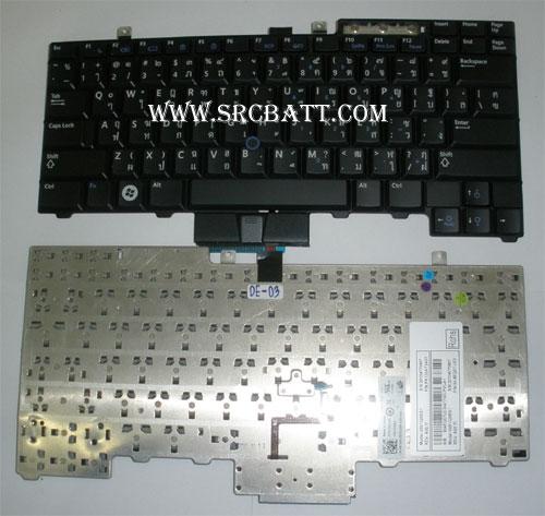Keyboard Notebook สำหรับรุ่น Dell Latitude E5500/E6500 (Dell-03) คีย์บอร์ดโน๊ตบุ๊ก