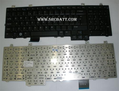 Keyboard Notebook สำหรับรุ่น Dell Studio 1735 1736 1737 (Dell-04) คีย์บอร์ดโน๊ตบุ๊ก แถมสติ๊กเกอร์