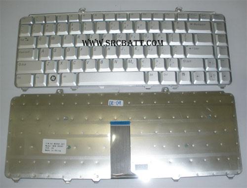 Keyboard Notebook สำหรับรุ่น Dell XPS M1330/1420 1520 (Dell-09) คีย์บอร์ดโน๊ตบุ๊ก แถมสติ๊กเกอร์