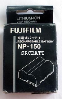 แบตเตอรี่ ยี่ห้อ Fuji รหัสแบตเตอรี่ NP-150 ความจุ 1500mAh รับประกัน 6 เดือน (Battery Camera)