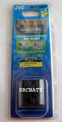 แบตเตอรี่ ยี่ห้อ JVC รหัสแบตเตอรี่ BN-VF707 ความจุ 700mAh รับประกัน 6 เดือน (Battery Camera)