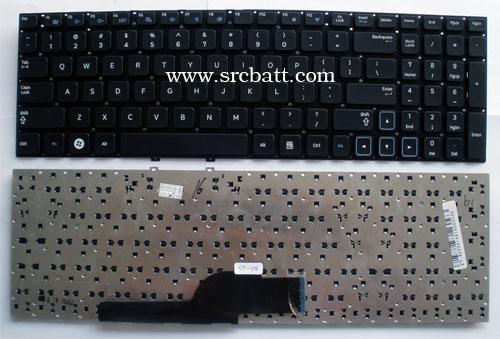 Keyboard Notebook สำหรับ Samsung NP300 NP300E5A 305E5A (SS-08) คีย์บอร์ดโน๊ตบุ๊ค แถมสติ๊กเกอร์