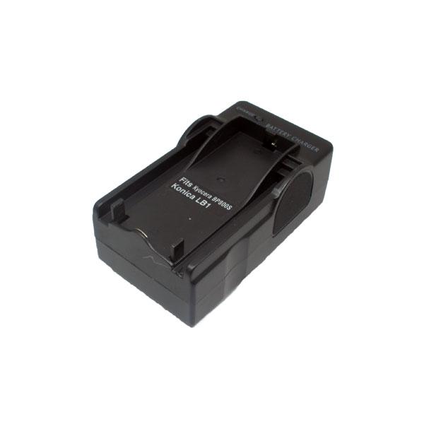 แท่นชาร์จแบตเตอรี่กล้อง KONICA รหัส DR-LB1 ชาร์จไฟบ้าน+ฟรีสายชาร์จในรถยนต์ (Charger Battery)