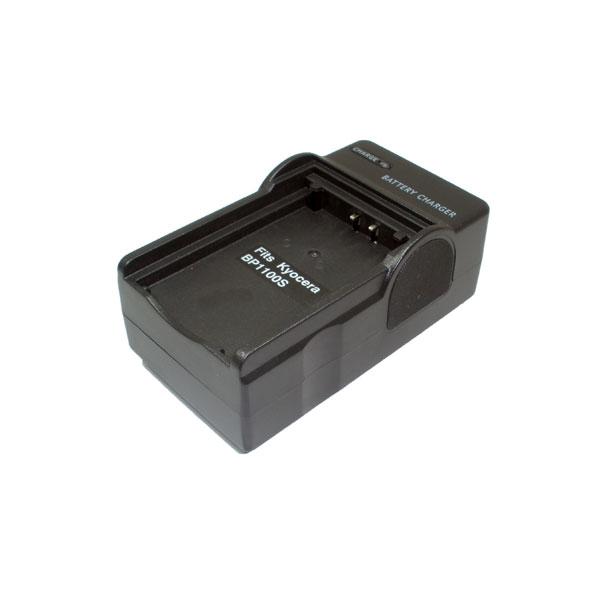 แท่นชาร์จแบตเตอรี่กล้อง Kyocera รหัส 1100s ชาร์จไฟบ้าน+ฟรีสายชาร์จในรถยนต์ (Charger Battery)