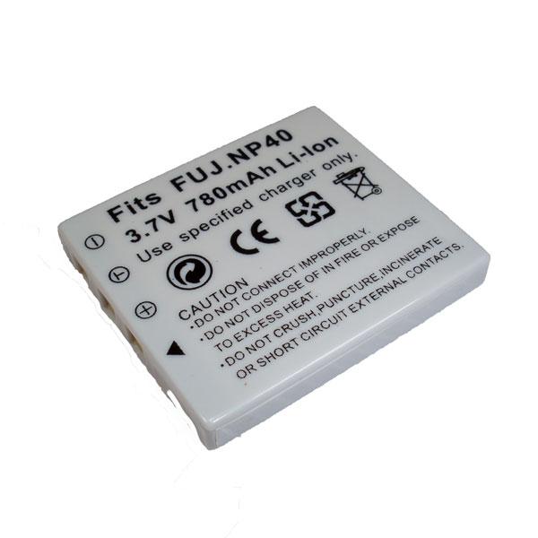 แบตเตอรี่ สำหรับกล้อง Fuji รหัสแบตเตอรี่ NP-40 ความจุ 780mAh (Battery Camera)