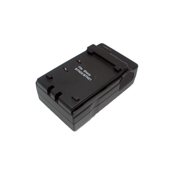 แท่นชาร์จแบตเตอรี่กล้อง Sharp รหัส BT-H21/H22/H22U ชาร์จไฟบ้าน+ฟรีสายชาร์จในรถยนต์ (Charger Battery)