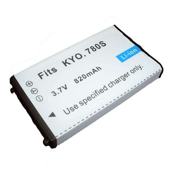แบตเตอรี่ สำหรับกล้อง Kyocera รหัสแบตเตอรี่ 780S ความจุ 820mAh (Battery Camera)