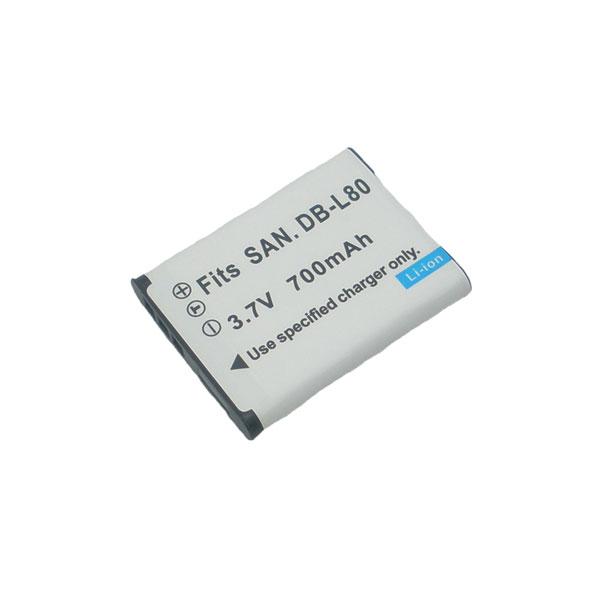 แบตเตอรี่สำหรับกล้อง Panasonic รหัสแบตเตอรี่ VW-VBX070 ความจุ 700mAh (Battery Camera)