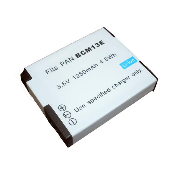 แบตเตอรี่สำหรับกล้อง Panasonic รหัสแบตเตอรี่ BCM13 ความจุ 1250mAh (Battery Camera)