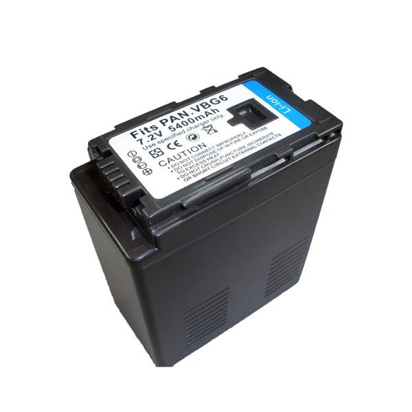 แบตเตอรี่ สำหรับกล้อง Panasonic รหัสแบตเตอรี่ VW-VBG6 ความจุ 4500mAh (Battery Camera)