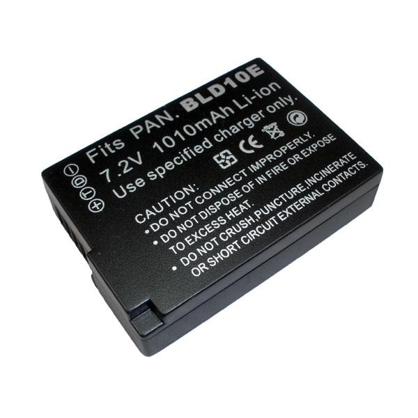 แบตเตอรี่ สำหรับกล้อง Panasonic รหัสแบตเตอรี่ DMW-BLD10 ความจุ 1010mAh (Battery Camera)