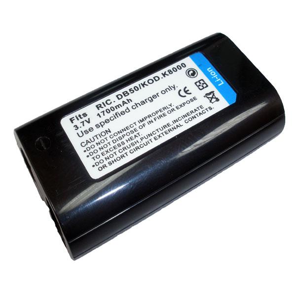 แบตเตอรี่ สำหรับกล้องดิจิตอล Ricoh รหัสแบตเตอรี่ DB50 ความจุ 1700mAh (Battery Camera)