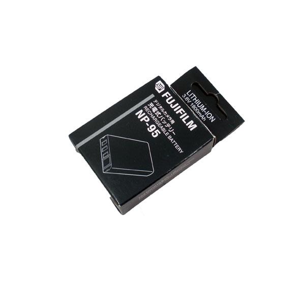 แบตเตอรี่ ยี่ห้อ Fuji รหัสแบตเตอรี่ NP-95 ความจุ 1800mAh รับประกัน 6 เดือน (Battery Camera)