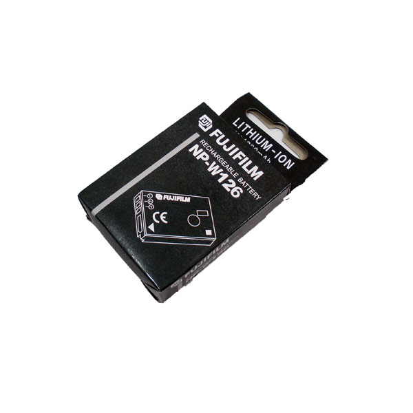 แบตเตอรี่ ยี่ห้อ Fuji รหัสแบตเตอรี่ NP-W126 ความจุ 1200mAh รับประกัน 6 เดือน (Battery Camera)